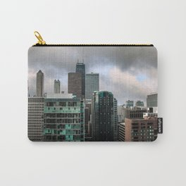 Chicago Skyline with John Hancock poking Through Carry-All Pouch