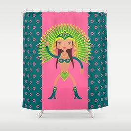 Brazil is Carnival  Shower Curtain