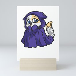 There Are People Out There scaredy cat Blanket Mini Art Print