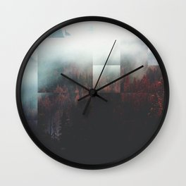 Fractions A65 Wall Clock