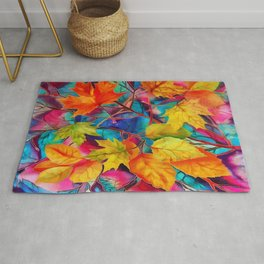 Autumn mood Rug