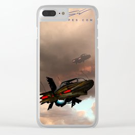 Airships and Atmospheres: Freeway Clear iPhone Case