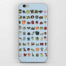 The creatures dictionary iPhone Skin