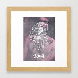 RITUALS I Framed Art Print