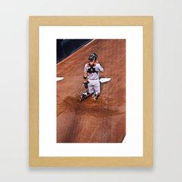 Giants Baseball Framed Art Print