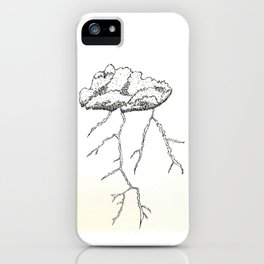 Inktober 2018 - Storm iPhone Case