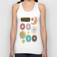 donuts Tank Tops featuring Donuts by Judy Oliva