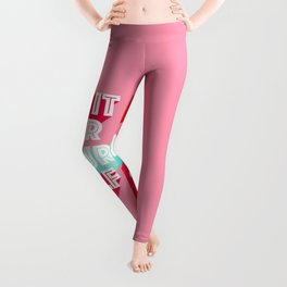 Do it for Yourself #motivational words Leggings
