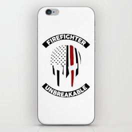 Firefighter Unbreakable iPhone Skin
