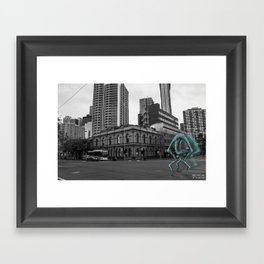 Unseen Monsters of Melbourne - Chuck Kelly Framed Art Print