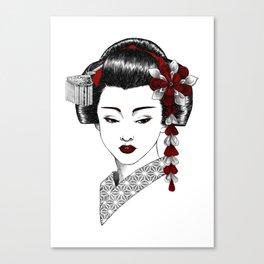 Maiko Canvas Print