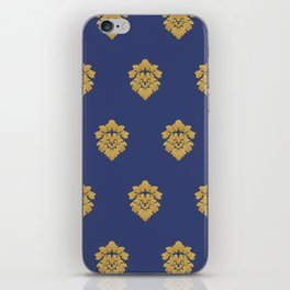 Free Marches (Blue) iPhone Skin