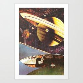 Nel vuoto cosmico Art Print