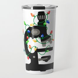 Christmas Microscope Travel Mug