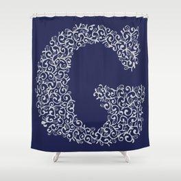 Letter G Shower Curtain