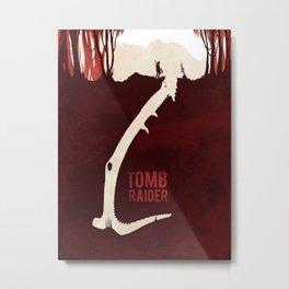 Tomb Raider 2018 Advanture Metal Print