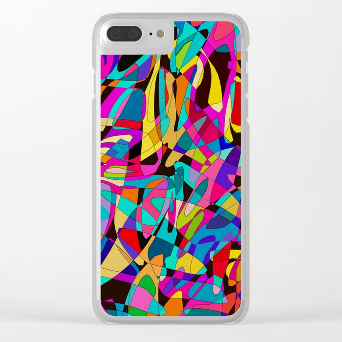 Tah Dah! Clear iPhone Case