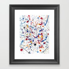 Abstract #3 - Exhilaration Framed Art Print