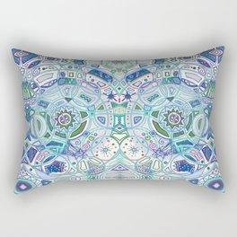 Cryptogram Rectangular Pillow