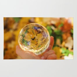 Autumn Crystal Ball Rug