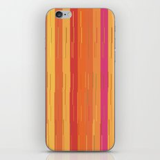 Orange and Yellow Stripes and Lines Abstract iPhone & iPod Skin