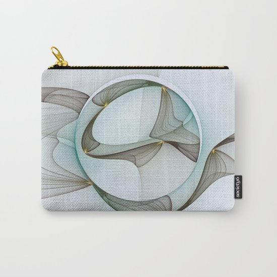 Abstract Elegance Carry-All Pouch
