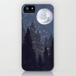 Full Moon Landscape iPhone Case