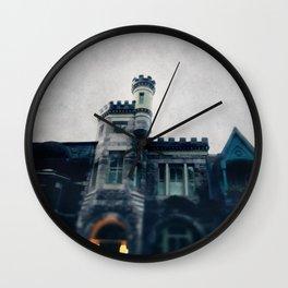 Haunting Above Wall Clock