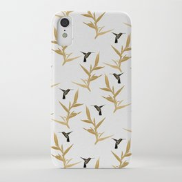 Hummingbird & Flower II iPhone Case