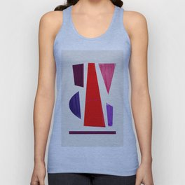 Pieces abstract Unisex Tank Top