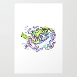 Monster Bash #5 Art Print