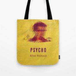 PSYCO - Hitchcok Poster Tote Bag