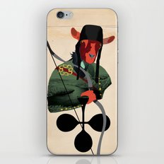 LANCELOT DU LAC iPhone & iPod Skin