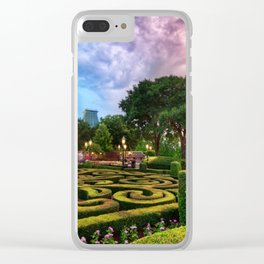 Disneyworld  Sunset Clear iPhone Case