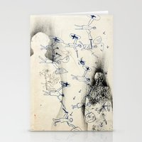 """battlefield Stationery Cards featuring """"Battlefield"""" - You Do Not Exist by Becy Brooks"""