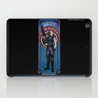 the winter soldier iPad Cases featuring Bucky the Winter soldier by Studio Kawaii