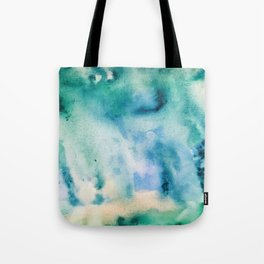 Watercolor abstract many color no.16 Tote Bag
