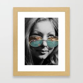 The Pool Framed Art Print