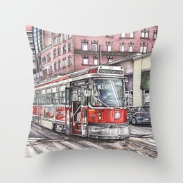 Spadina King Throw Pillow
