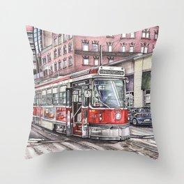 Spadina King Throw Pillow