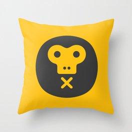 The Monkeys Order Throw Pillow