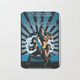 Wonder And Adventure: Dream Tower Media, Rogues of Merth Bath Mat