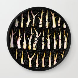 Sticks not Stones Wall Clock