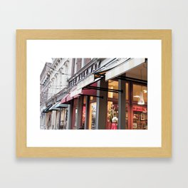 The Walkway Framed Art Print