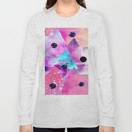 cat pink-34 Long Sleeve T-shirt