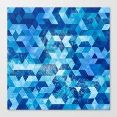 Cold Snowflake Canvas Print