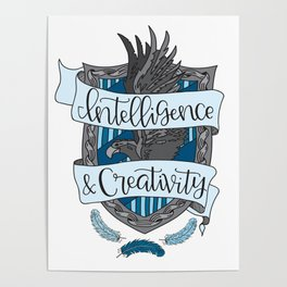 House Pride - Intelligence & Creativity Poster