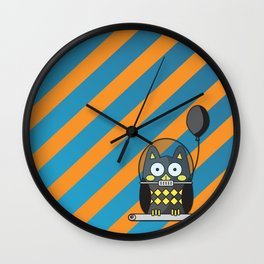 Nutty the Space Owl Wall Clock