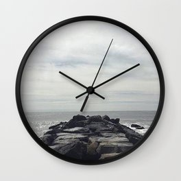 Let the Ocean Take Me Wall Clock
