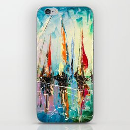 BEFORE REGATTA iPhone Skin